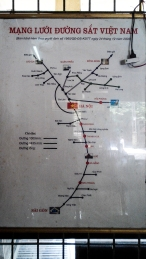 Route Map of VN Rail System